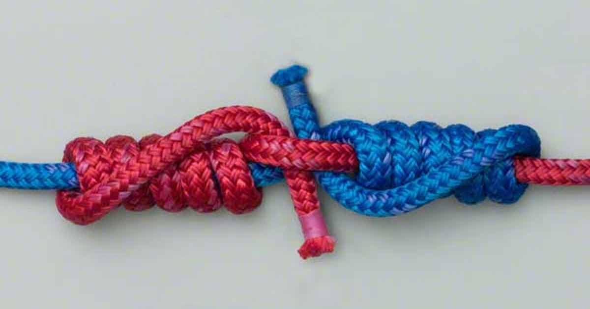 Noduri pescărești între fir textil și monofilament
